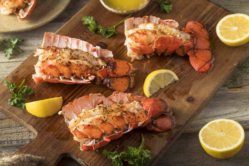 Instructions On How To Butterfly A Lobster Tail